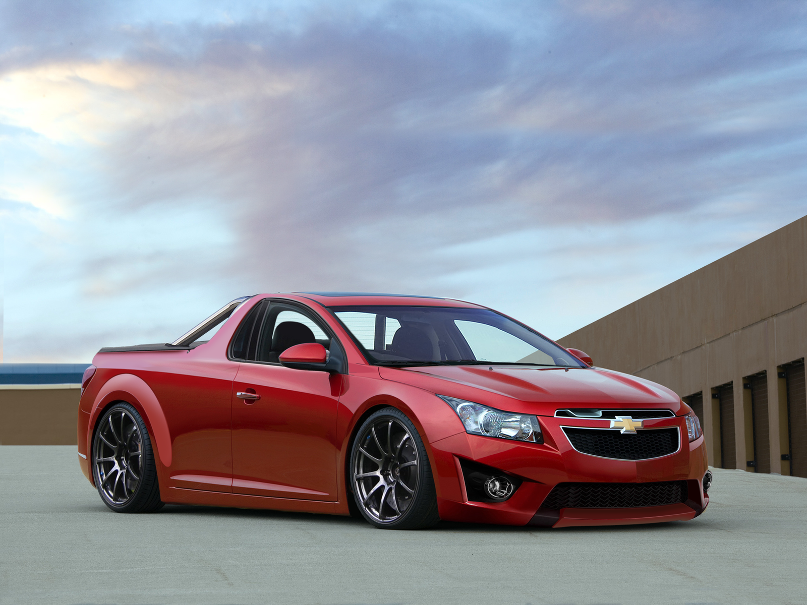 Chevrolet Cruze Ute By Degraafm On Deviantart