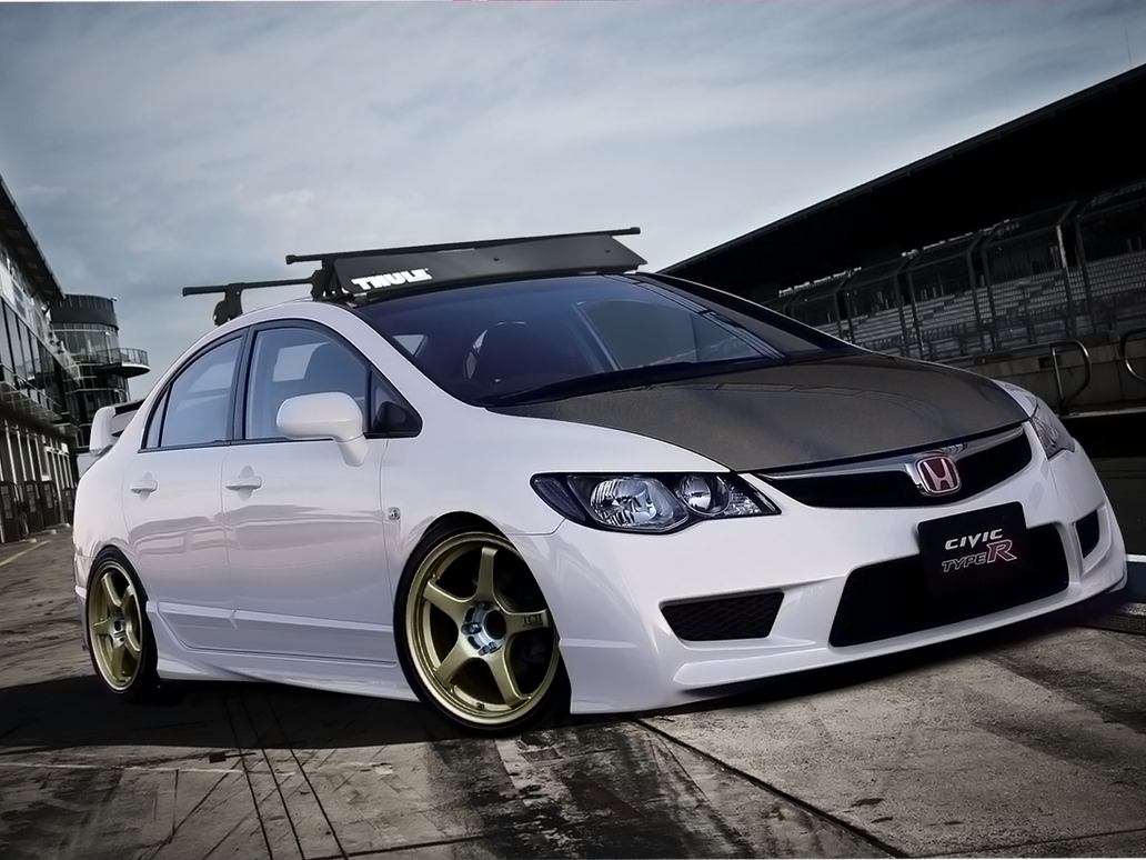 honda civic type r by degraafm on deviantart. Black Bedroom Furniture Sets. Home Design Ideas