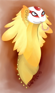 Laperne (Owned by Kryptographer) by Eskiwolf64