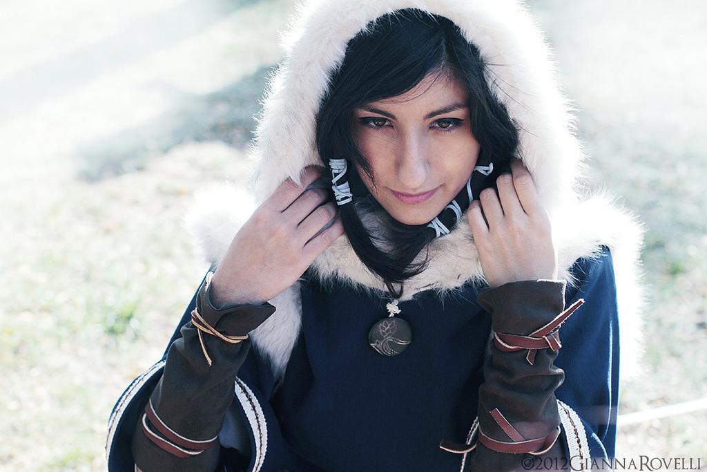 Korra Winter Jacket by Sasha-Dee