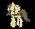 pony with a gun
