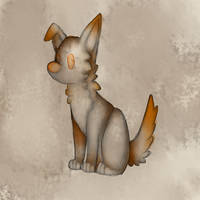 Watercolor Pup by wingedwolf94