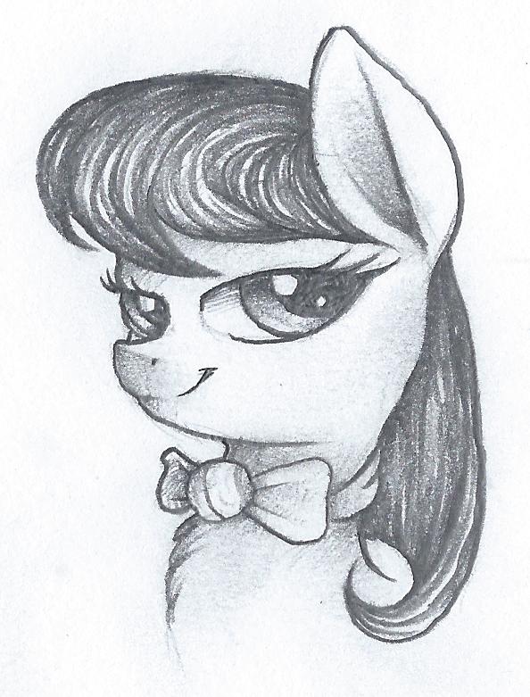 Octavia Pencil Portrate