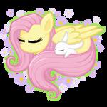 Sleepy Fluttershy (speedpaint)