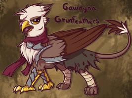 Gawdyna Grimfeathers by wingedwolf94