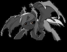 Ryo Bat Pony by wingedwolf94