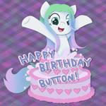 Button Birthday Gift