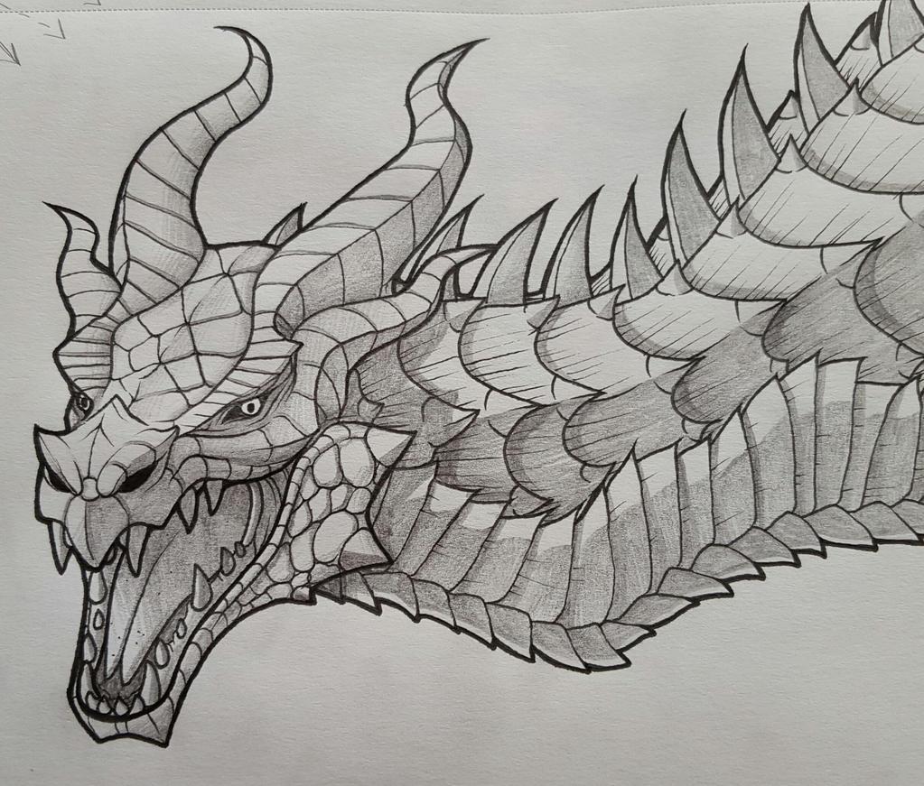 Skyrim Dragon By Wingedwolf94 On DeviantArt