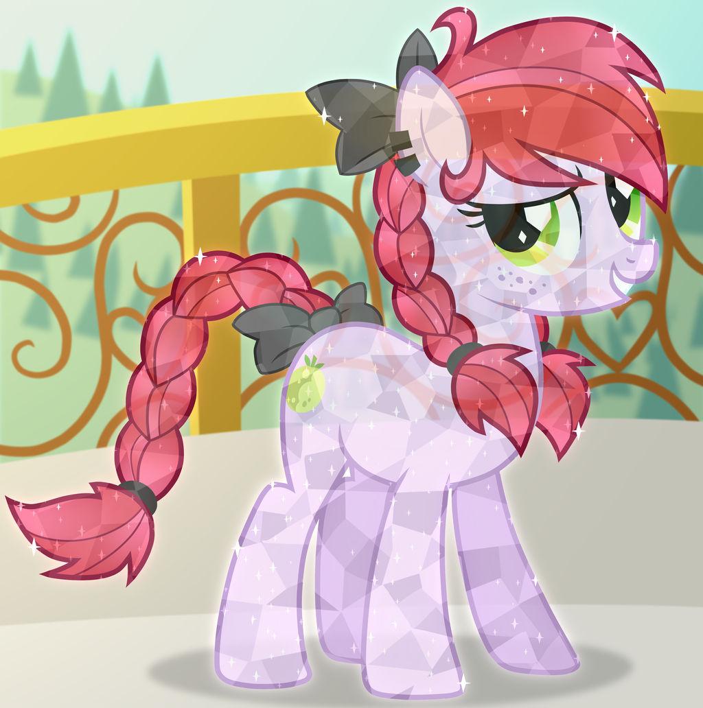 Crystal Pony Crabapple