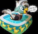 Duck Pony Ych for Soren-the-Owl