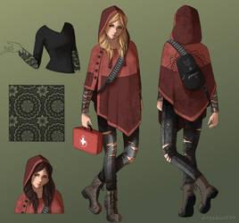 Red Riding Hood Kate Skin