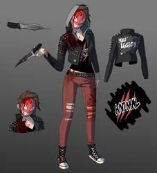 Punk Rock Julie Skin
