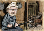 Jacques Tardi -colored caricature by KyrMaur