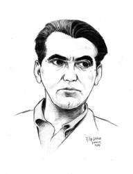 F. G. Lorca -portrait