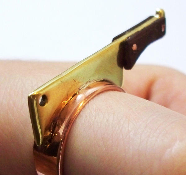 Slice Ring by salvagedsword
