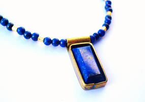 Egyptian Lapis by salvagedsword