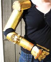 Steampunk Arm WIP by salvagedsword