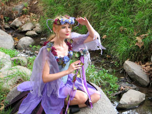 Fairy at the Stream