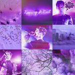 Purple Brendon Urie moodboard