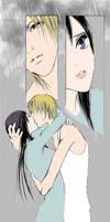 Kyohei and Sunako kiss