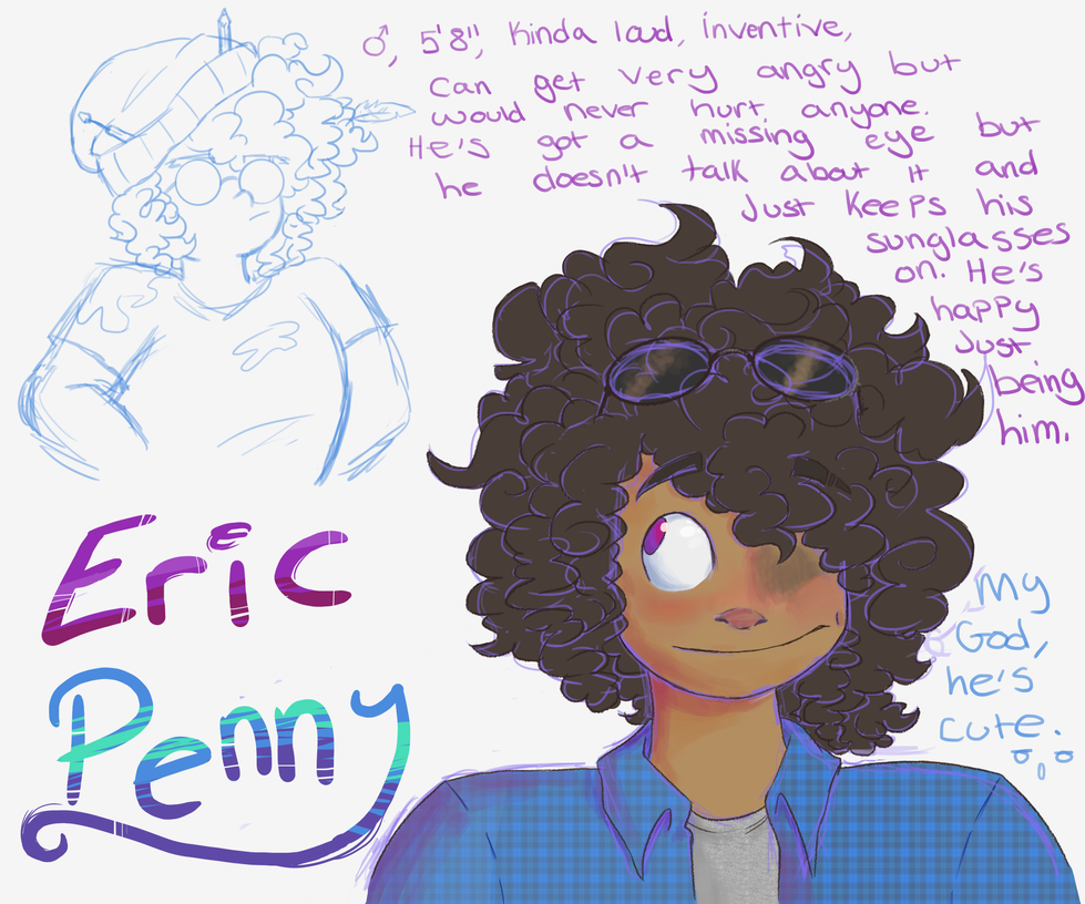 Eric Penny by ScribbleCate