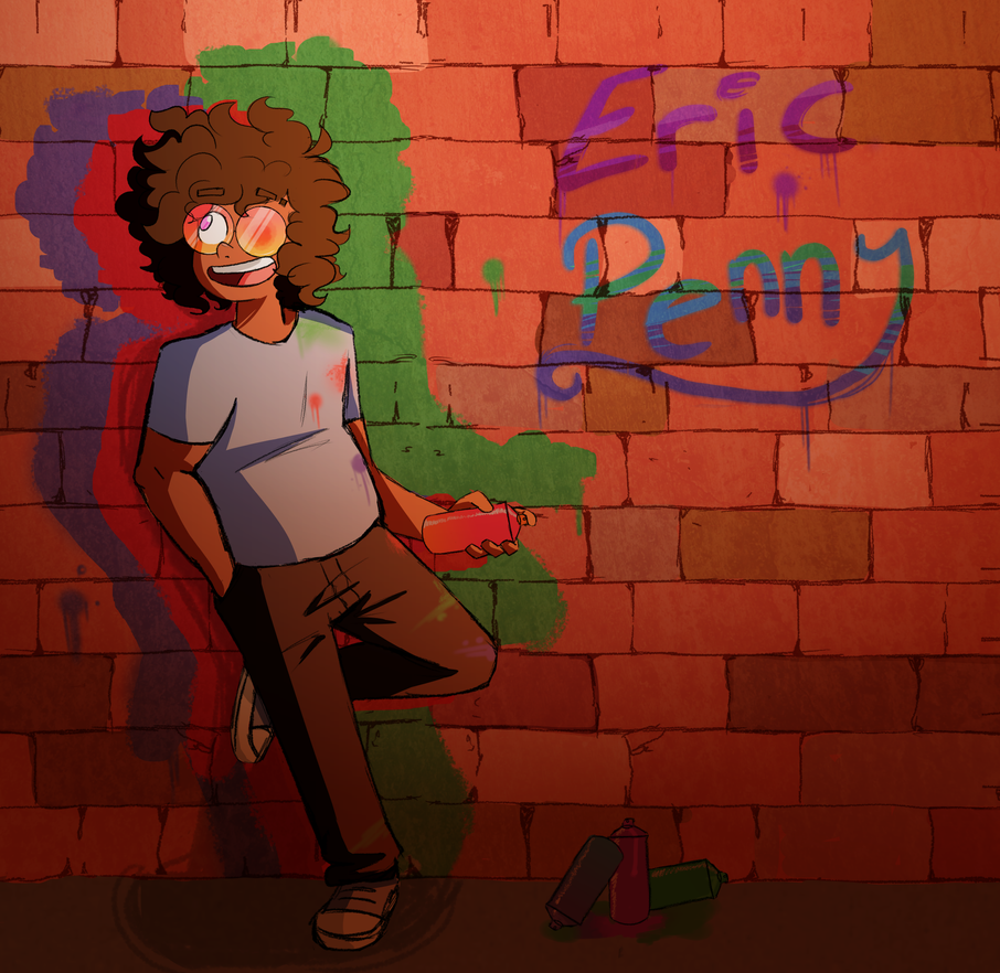 Eric by ScribbleCate