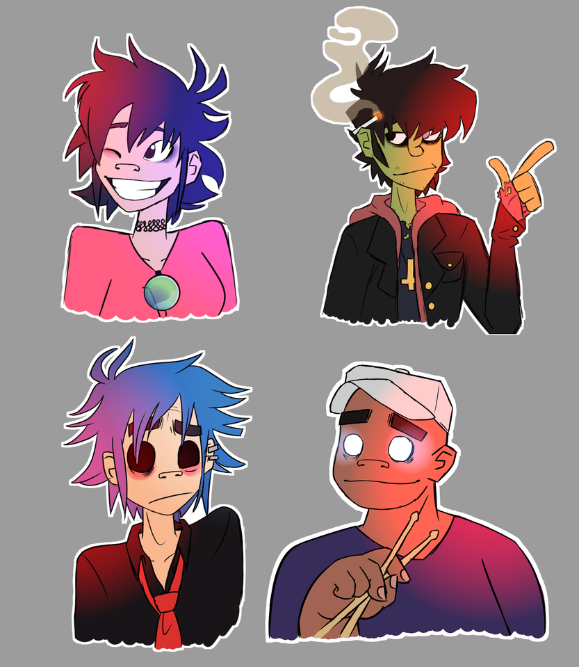 Stickerz by ScribbleCate