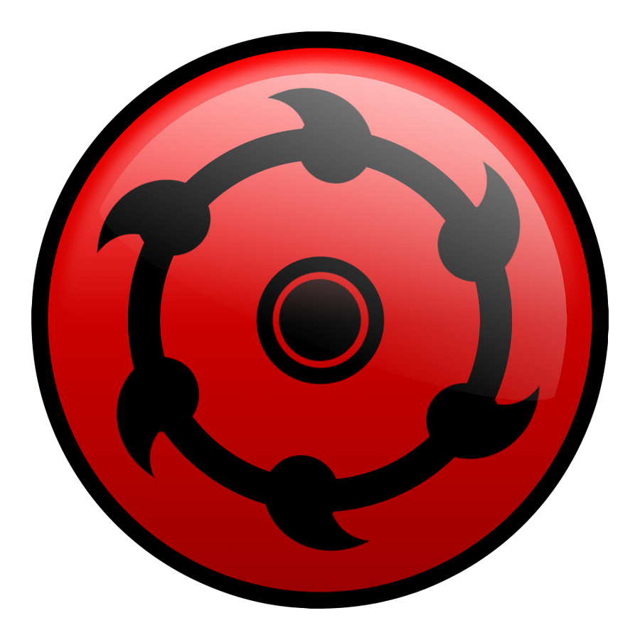 random mangekyou sharingan by xaiGatomon