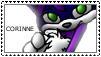 Corinne stamp by xaiGatomon