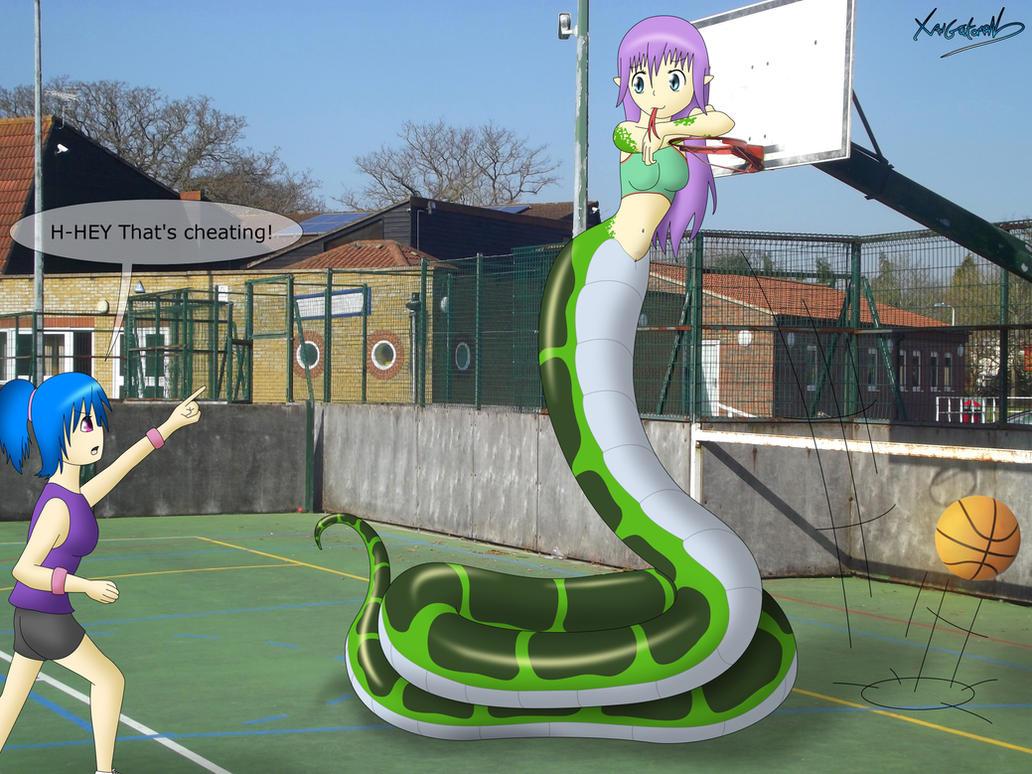 Basketball cheat by FluffyXai
