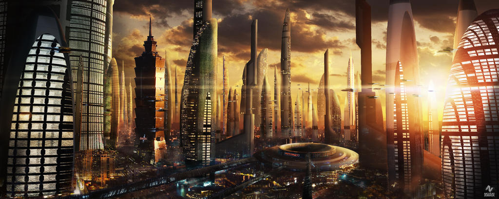 City Futurist by CordobezWeee