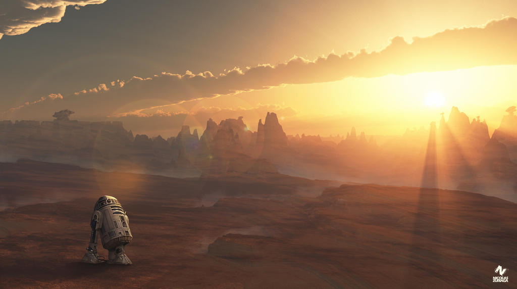 Tatooine by CordobezWeee