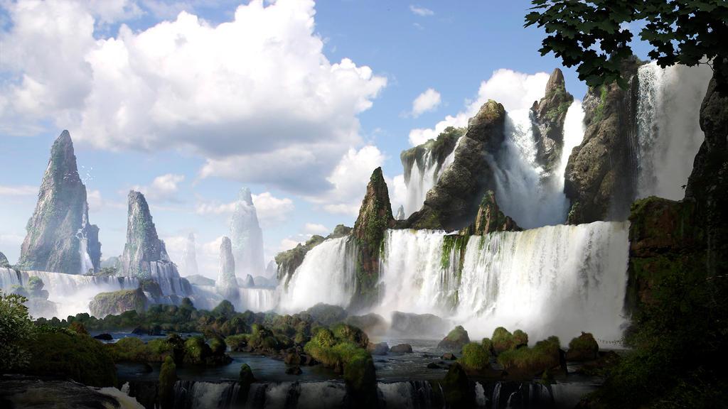The WaterFall by CordobezWeee