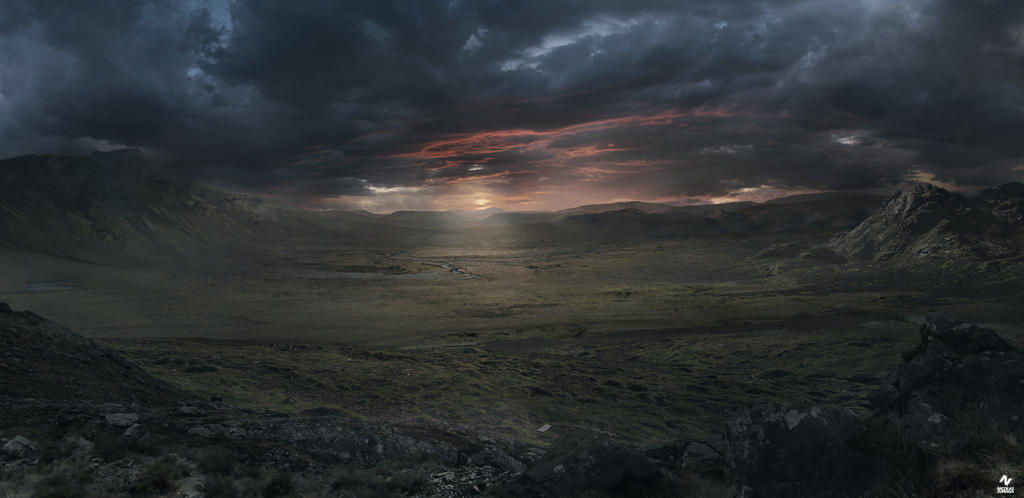 Desolate Panorama by CordobezWeee