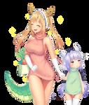 Fan art Dragon maid