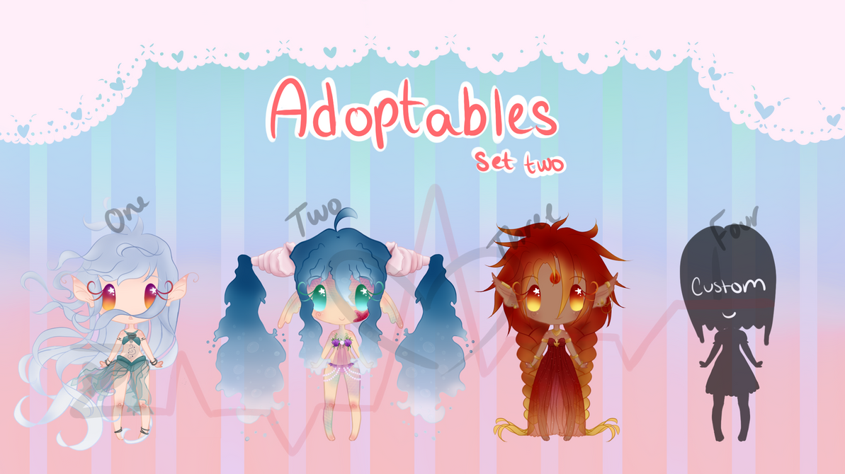 Adoptables Set Two by ZombieInsanity