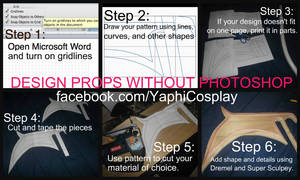 How to Design Cosplay Props Without Photoshop