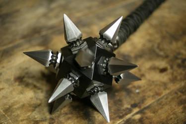 Gothic War Mace by ArchangelSteelcrafts
