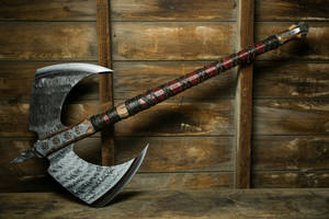Doom Giver Axe by ArchangelSteelcrafts