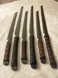 Basic Katanas by ArchangelSteelcrafts