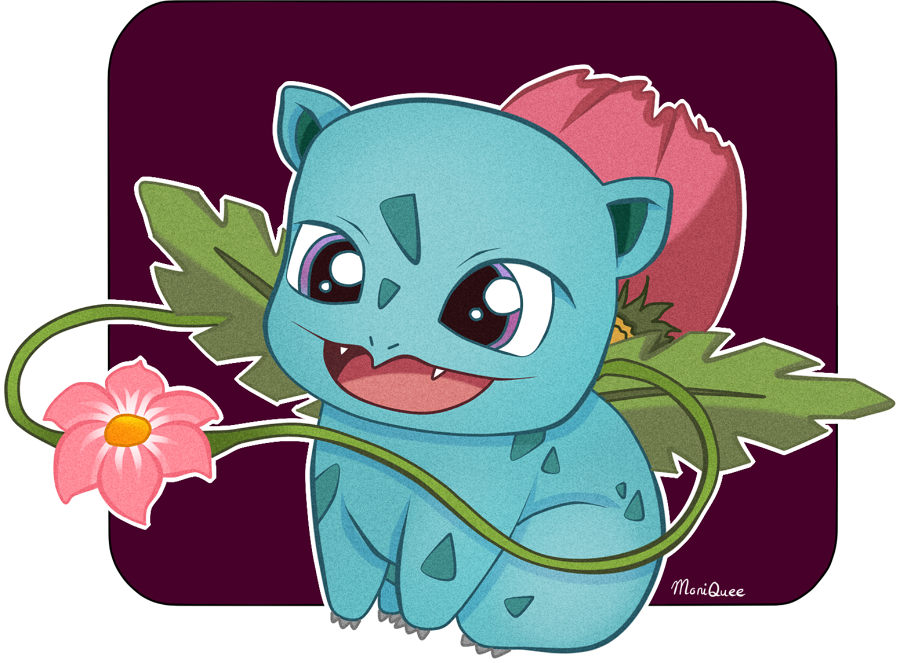 Ivysaur by m0niQuee