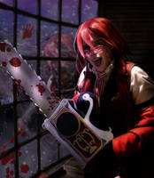 Kuroshitsuji Grell Cosplay: Jack The Ripper by BloodlustDetox