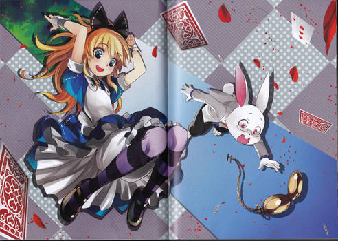 Alice in Wonderland [Manga Style] 9