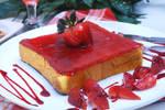 Strawberry Toast by Ronaldpanda