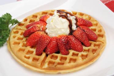 Strawberry Waffle by Ronaldpanda