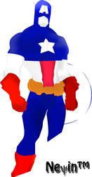 Captain America Tribute 2 by funfair91