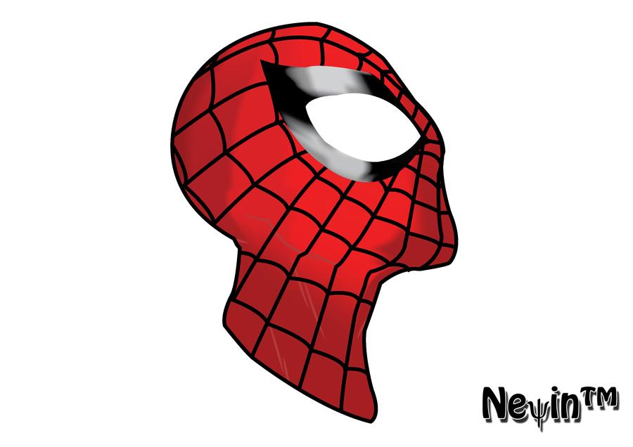 Spider-Man Head by funfair91 on DeviantArt