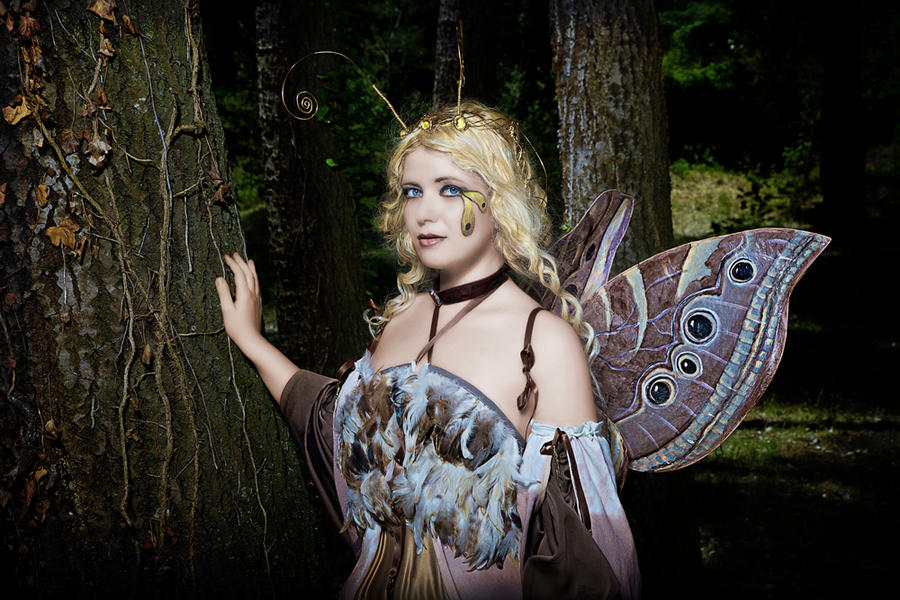 Moth Fairy queen by Costurero-Real
