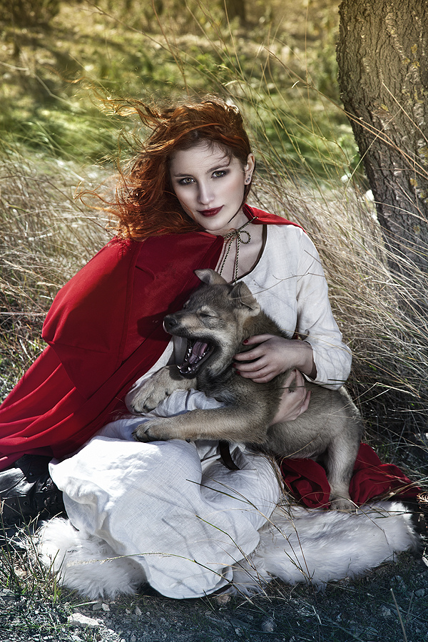 real red riding hood
