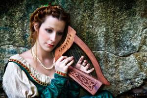 Harpist by Costurero-Real